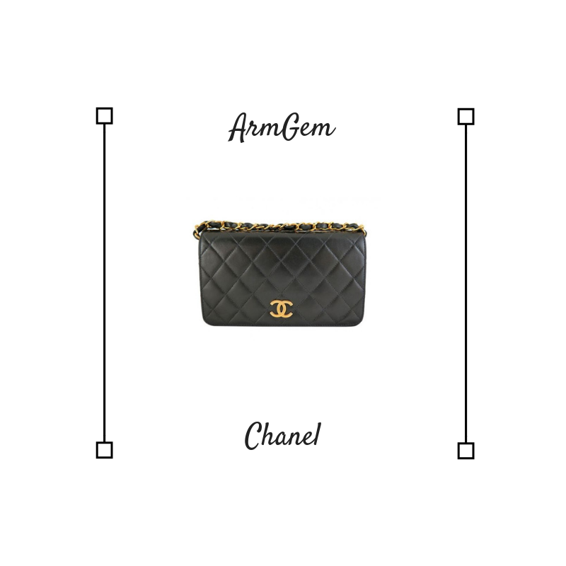 Chanel Lambskin Black 2.55 Single Flap Bag 2.png