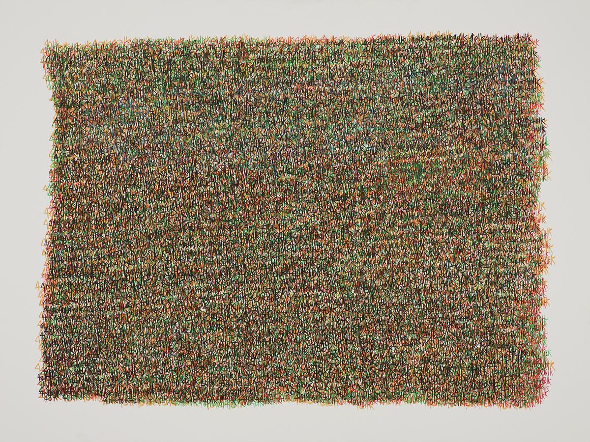 401K. Acrylic on Canvas. 36x48