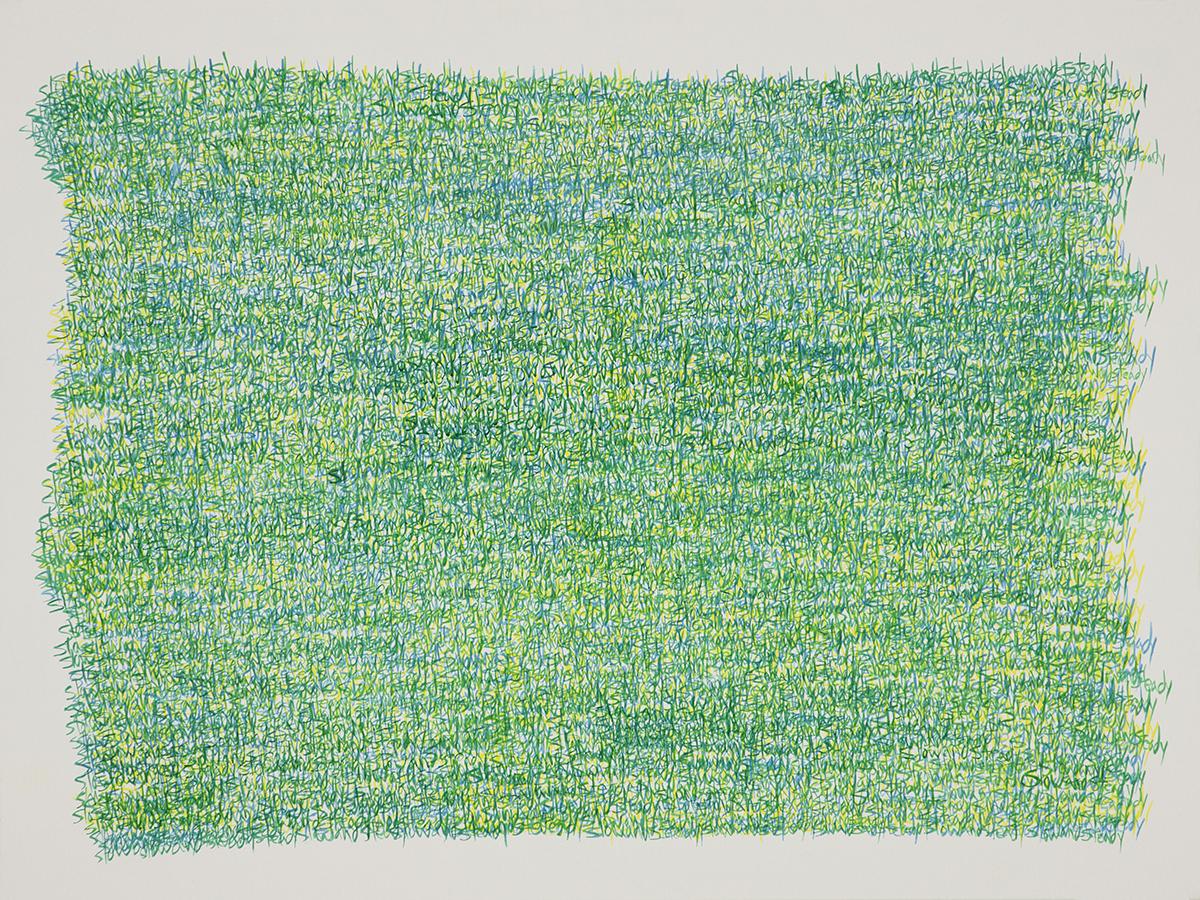 Slow and Steady. Acrylic on Canvas. 24x36