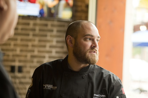 Executive Chef, Rhett Dukes of Savory Catering in Dallas, Texas!