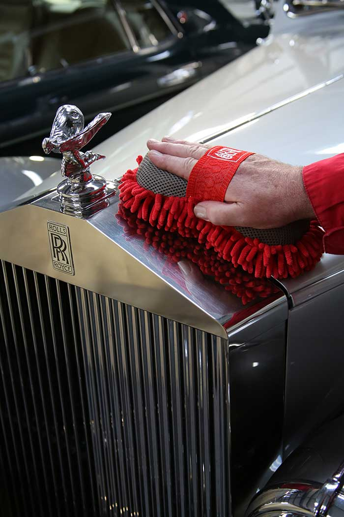 We'll keep your car looking as good as when it arrives with us.