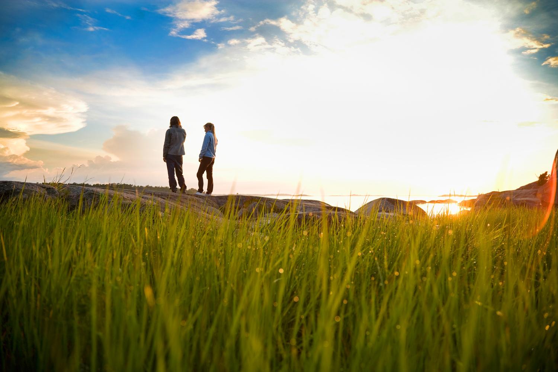 Ytre Hvaler Nasjonalpark    THE MARINE    NATIONAL PARK    LEARN MORE