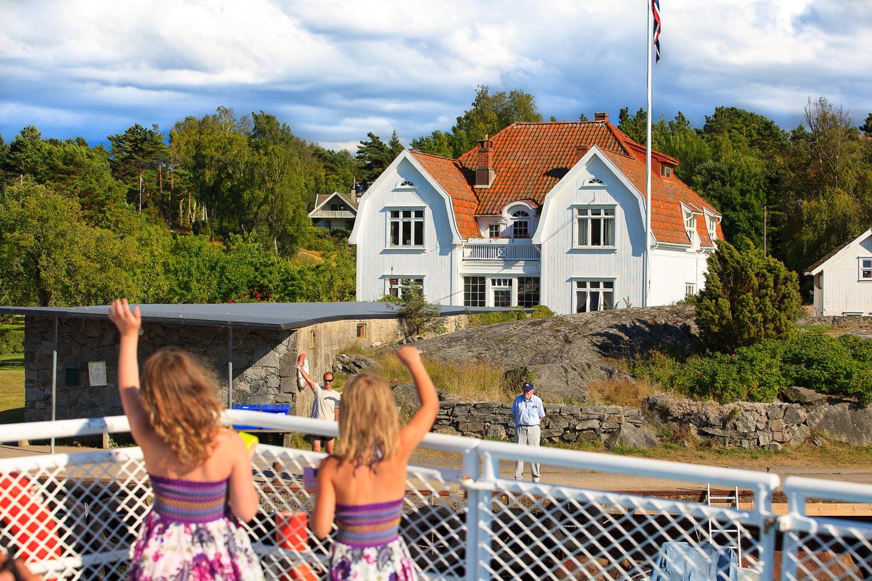 Travelling to Fredrikstad Hvaler