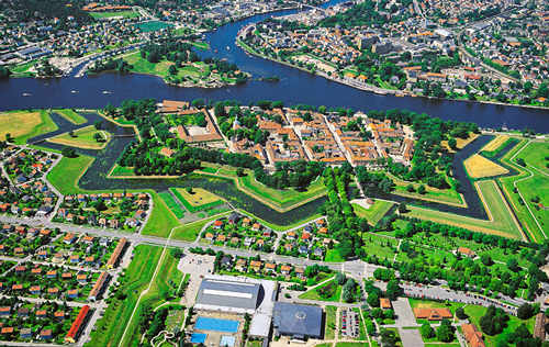The Fortified Town - Fredrikstad`s Old Town
