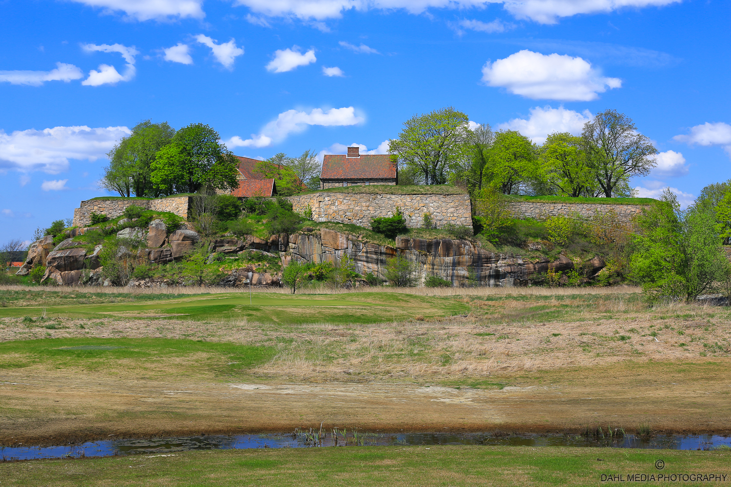 The Kongsten Fortress – The Cliff in Old Fredrikstad