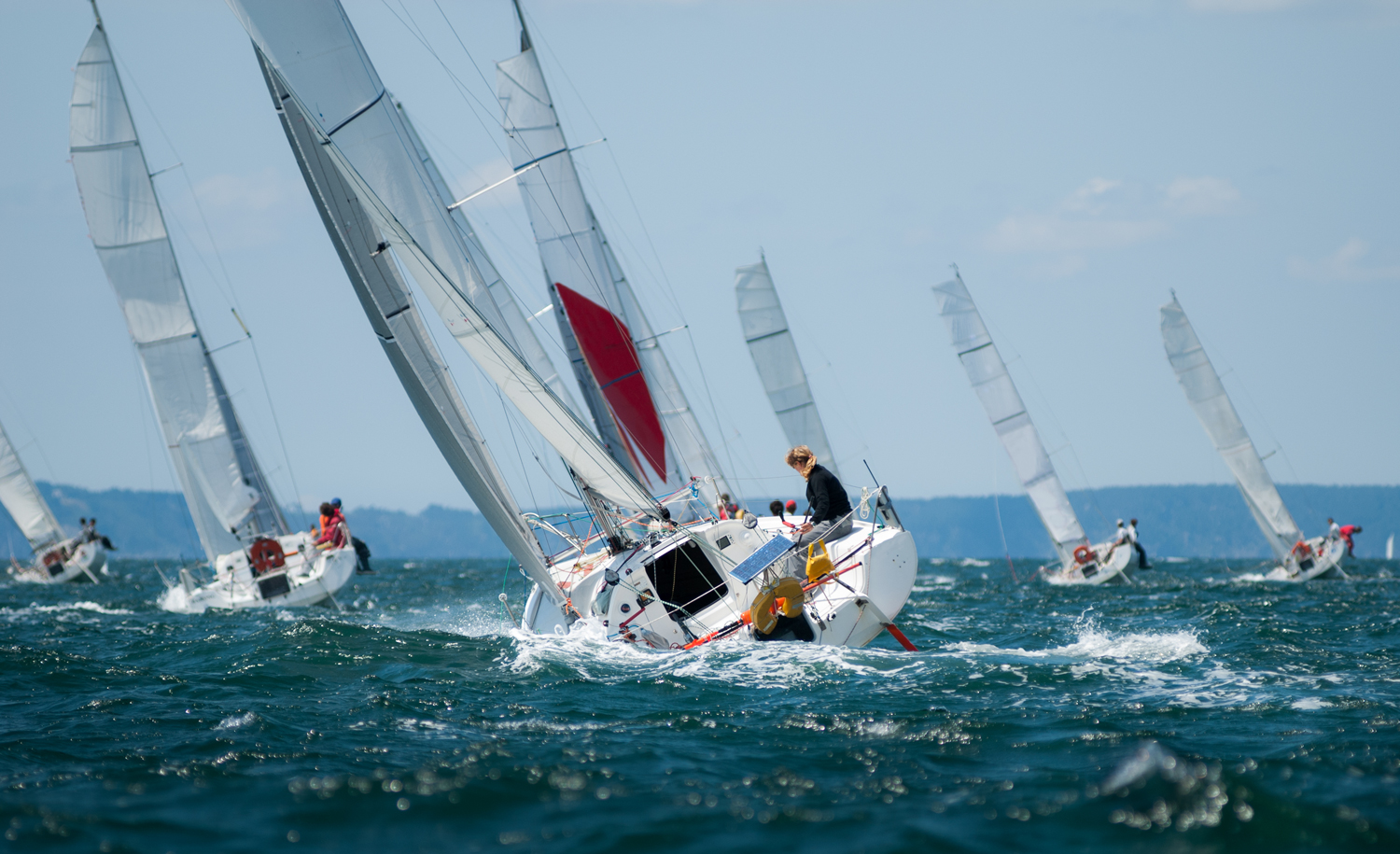 The Summer paradise of sport sailing. Hankø is famous for its regattas, where among others the royal family have been annual participants.