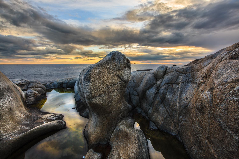 Herføl - a stunning landscape of rocks