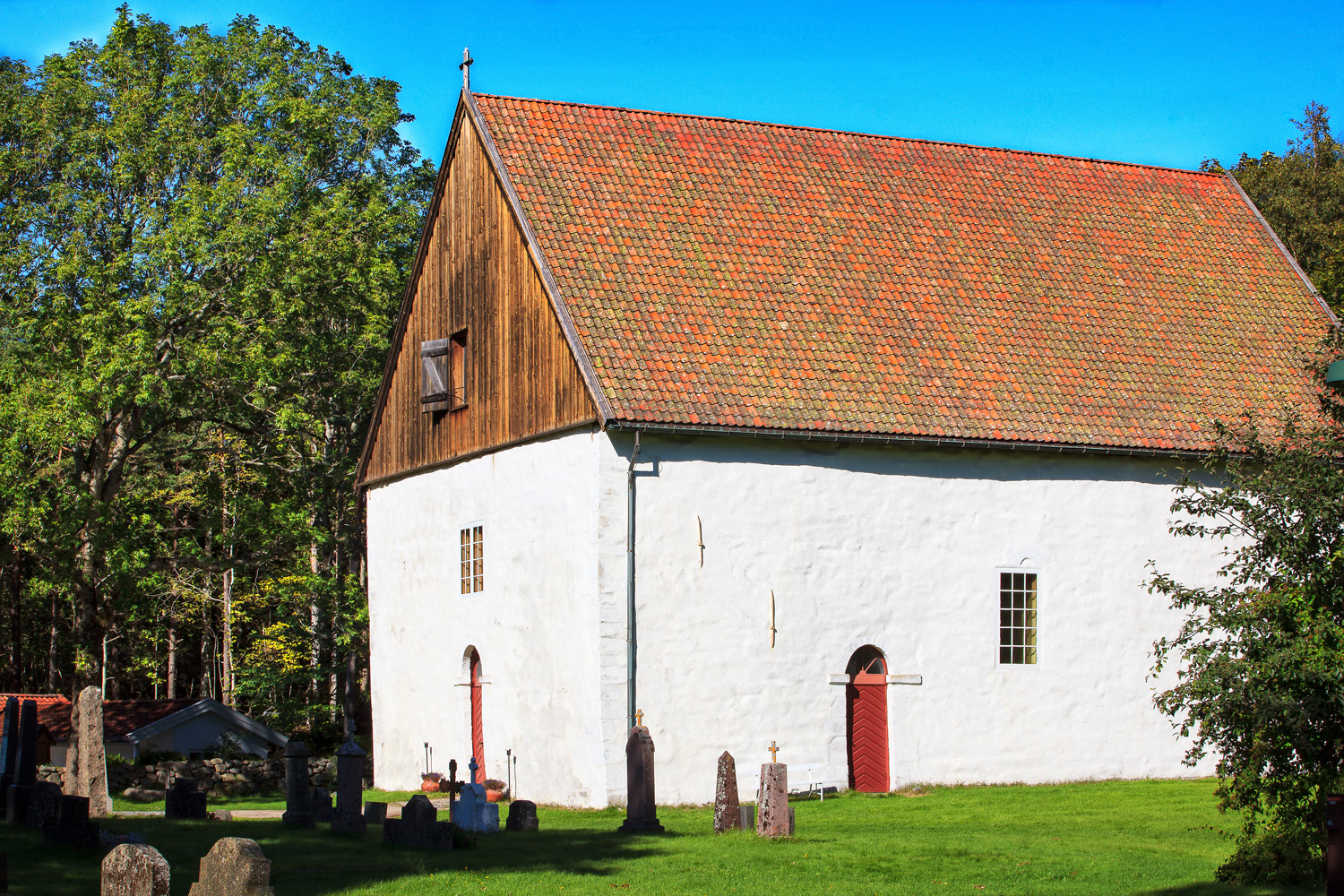 Hvaler Church is one of Norway's oldest churches.