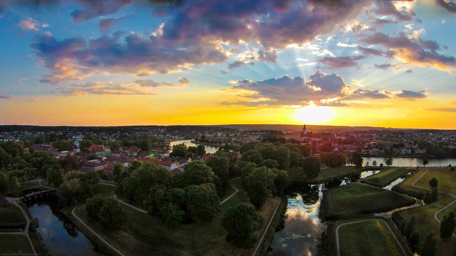 Fredrikstad is proud to be the best preserved fortress town in Scandinavia.