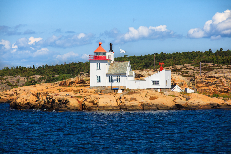 "Homlungen Lighthouse - only 15 minutes walk from Hvaler's ""Capital""- Skjærhalden."