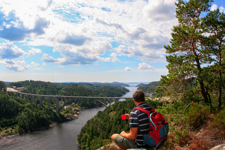 Svinesund - The border between Sweden and Norway.