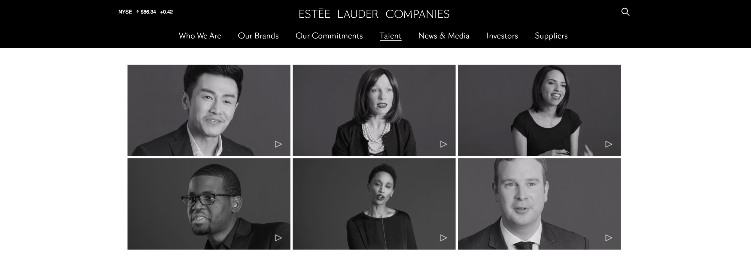 View all the videos at https://www.elcompanies.com/talent