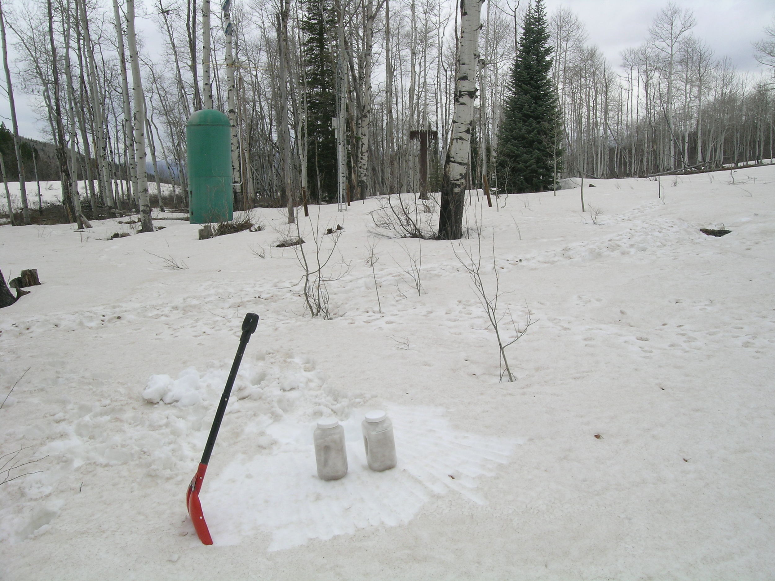 """All Layers Merged"" dust samples collected at McClure Pass CODOS SIte, April 30, 2013"