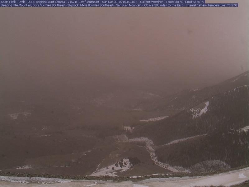Abajo Peak Utah, 1546 hrs