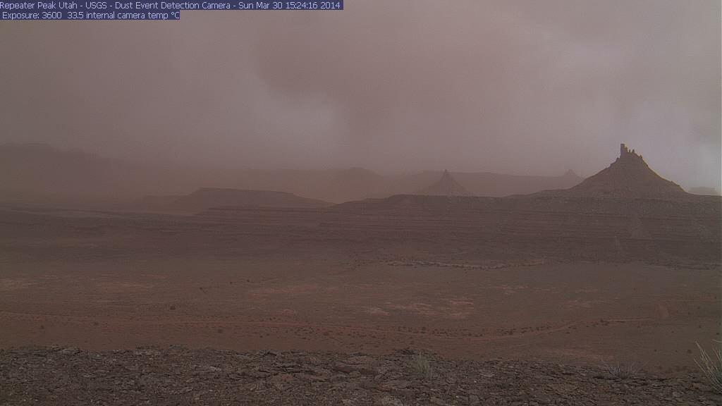 Repeater Peak Utah, 1524 hrs