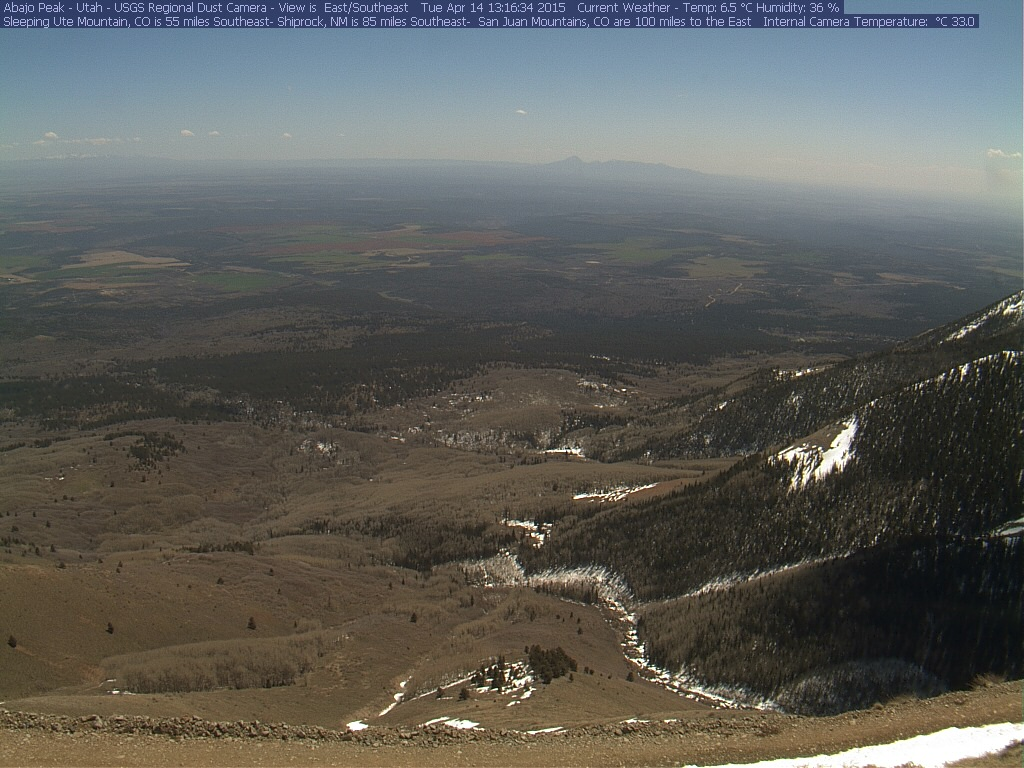 To view the USGS Abajo Peak Webcam live, visit their website by  clicking here