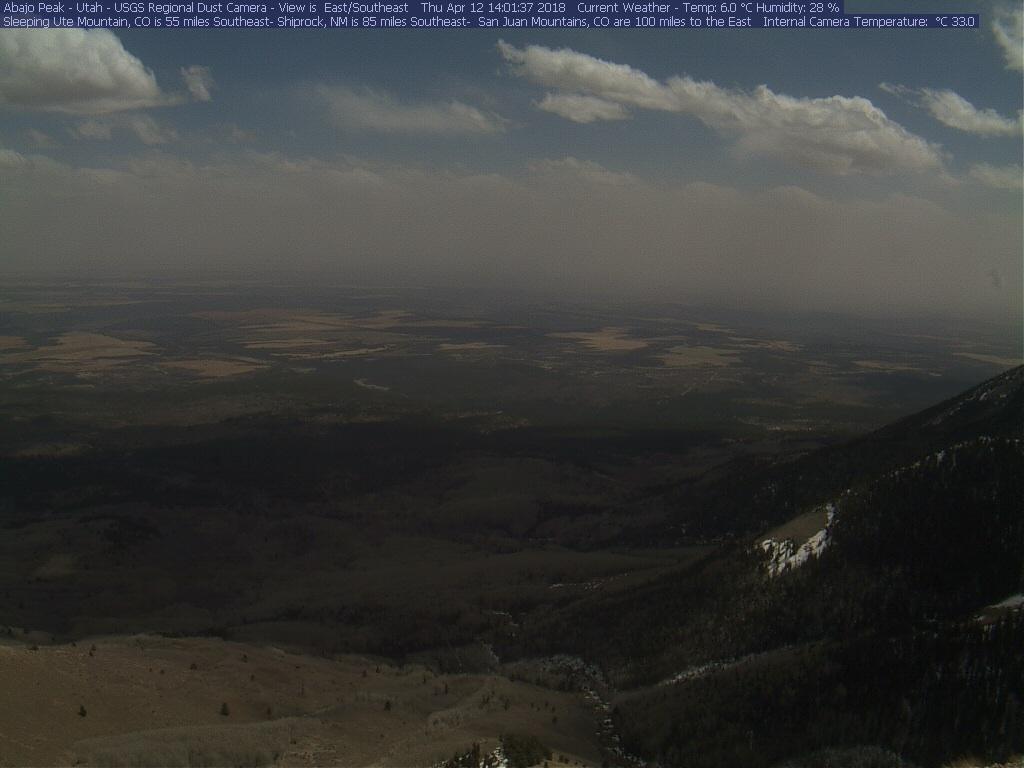 Abajo dust camera on April 12.