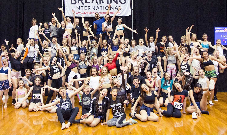 Elysia's Salsa workshop at at Australian Dance Festival