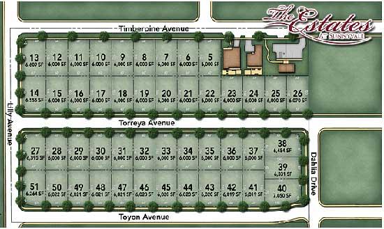 Estates-Sunnyvale-map