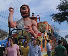 Image of Mardi Gras Float