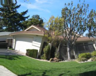 Image of Distorted Silicon Valley Home