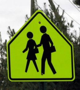 Picture of School Sign