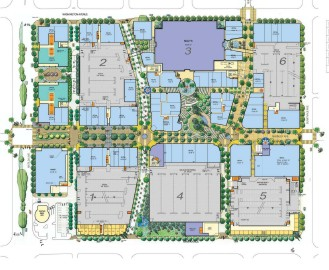 Image of Sunnyvale Redevelopment Map
