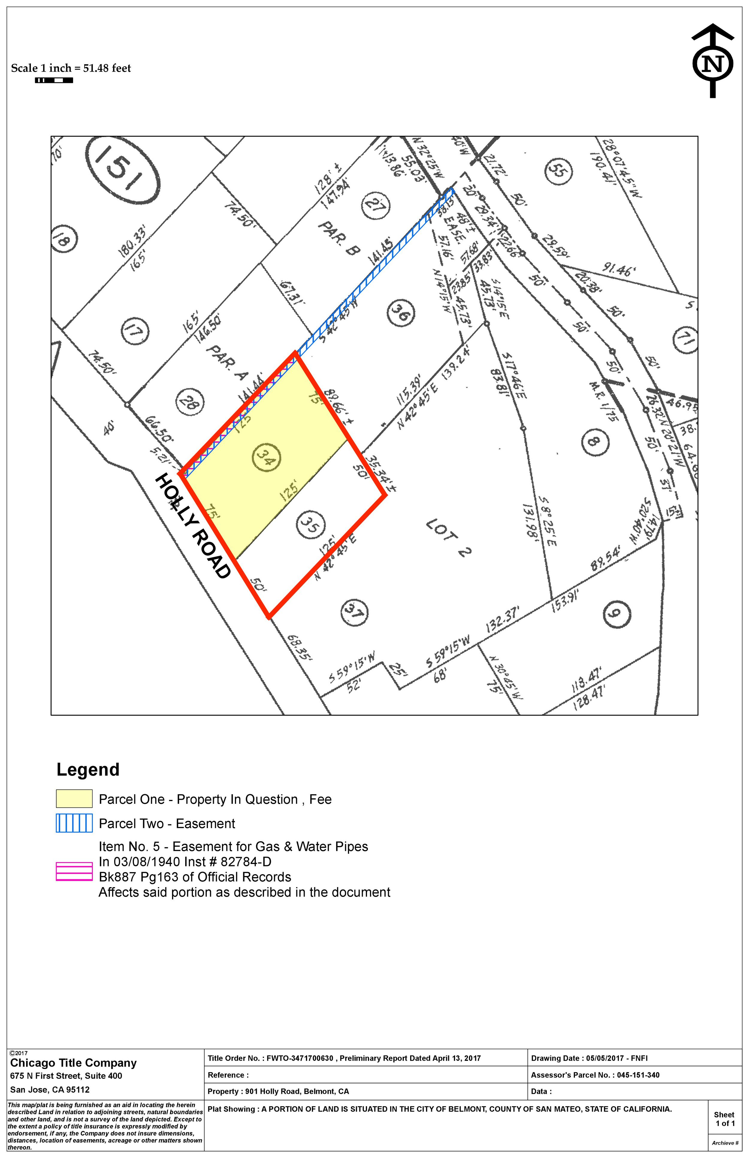 *click to enlarge.Property boundaries have not been surveyed, buyers encouraged to investigate development potential with the Belmont Building and Planning Dept.
