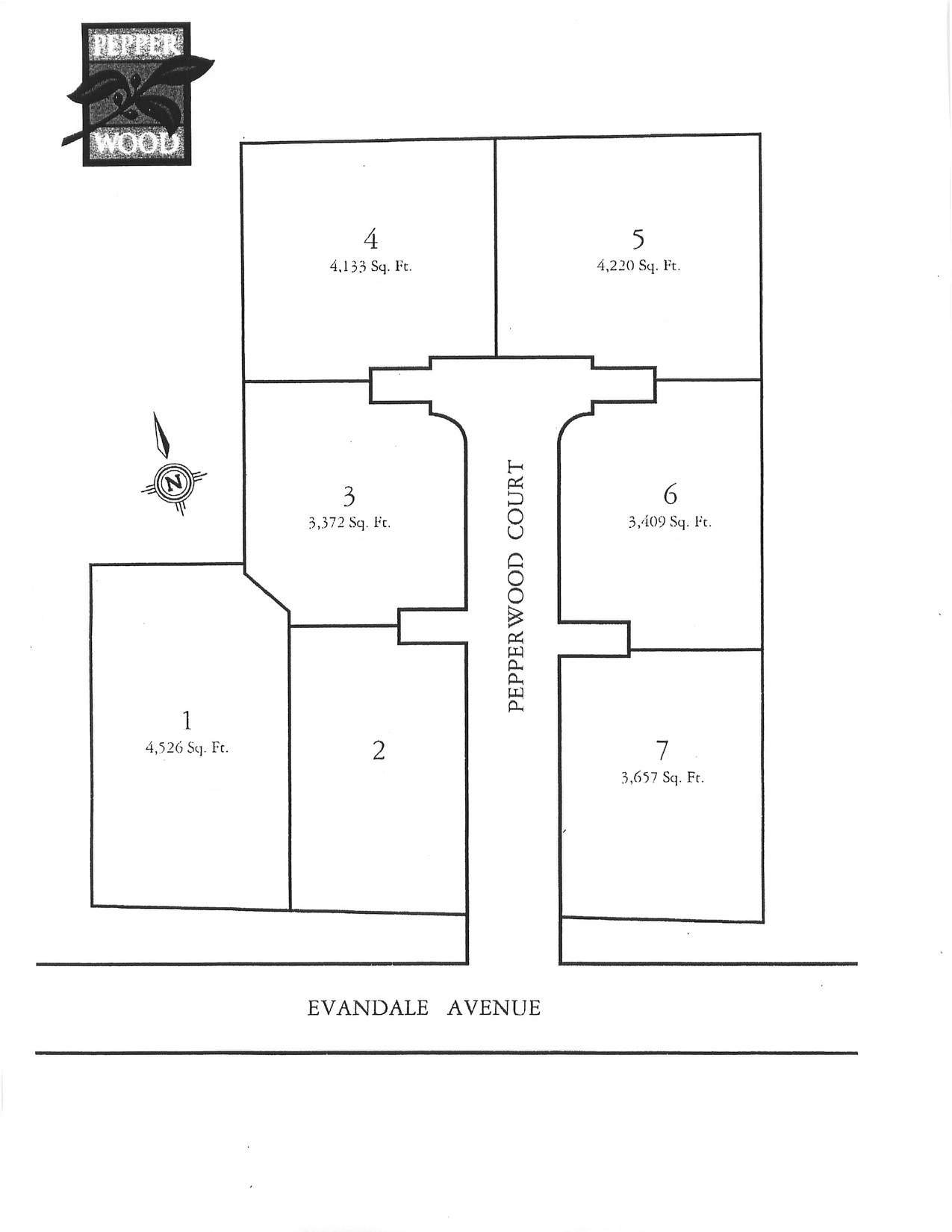 635 Pepperwood Lots and Dimensions 2004 pg2.jpg