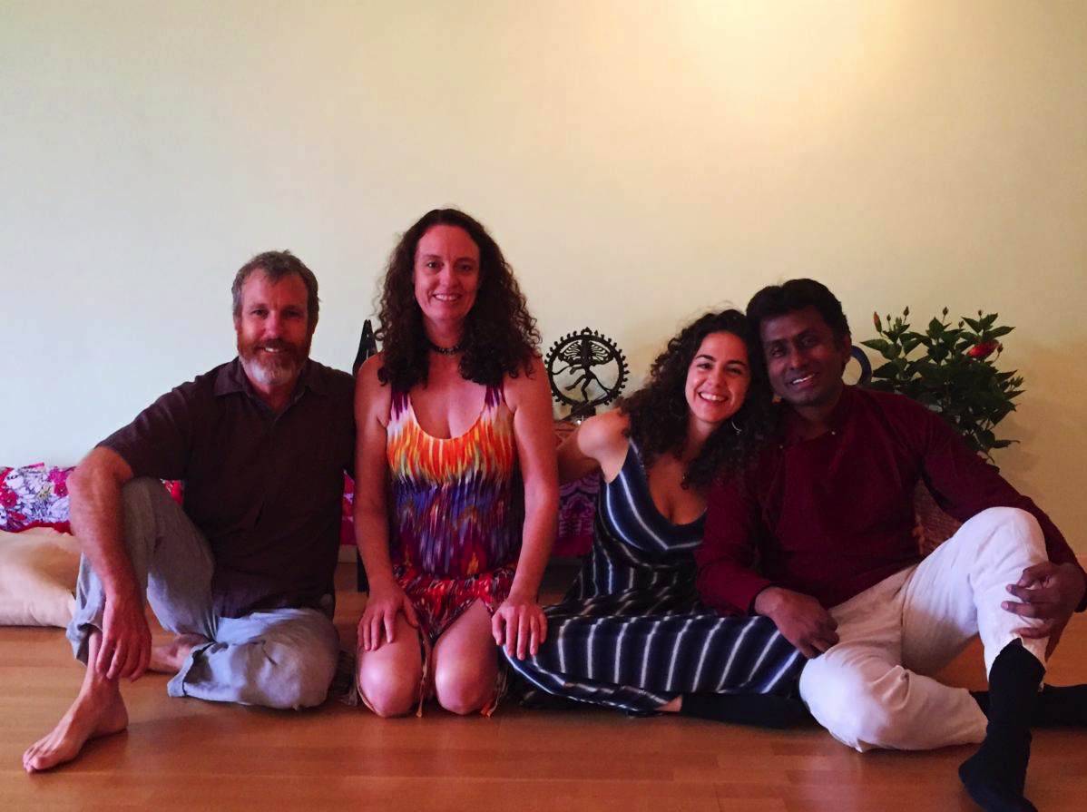 Photo: Teacher Trainers - Before teaching their first weekend immersion...