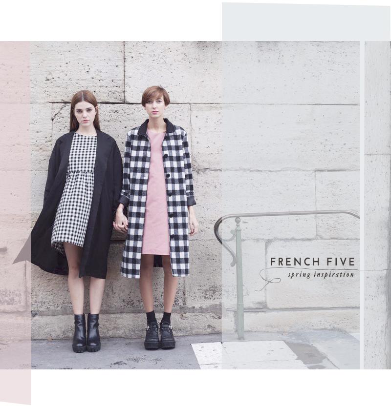 5 piece french wardrobe spring inspiration