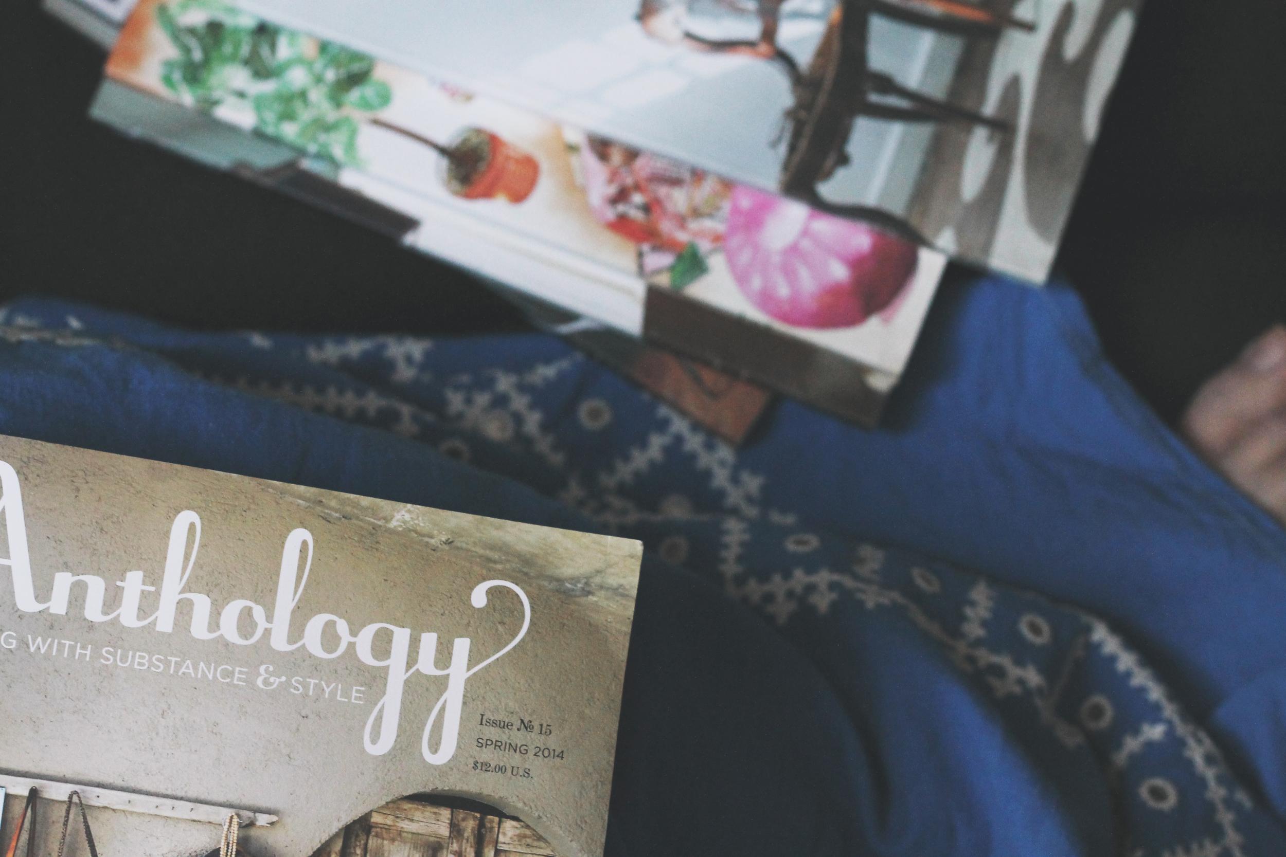 reading anthology magazine | via: bekuh b.