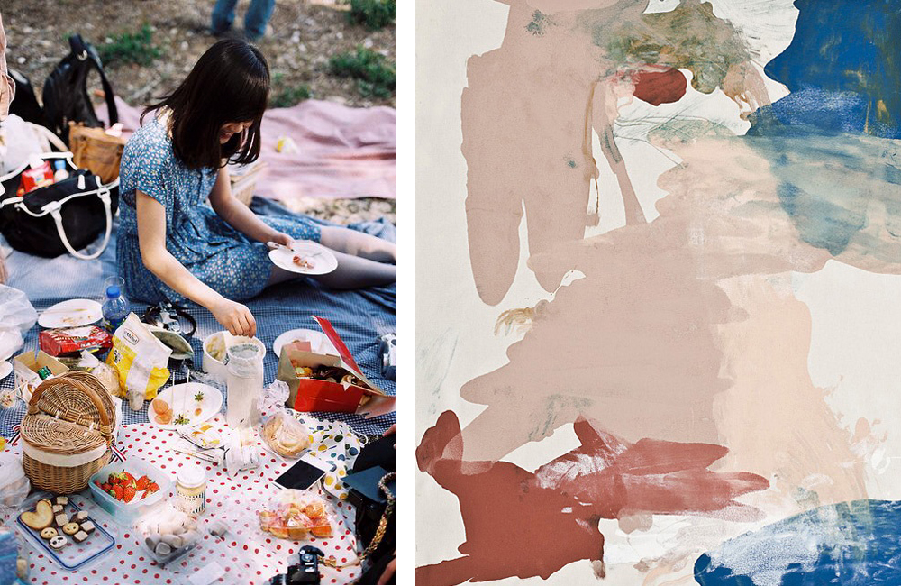 couplings no. 3 | picnic in the abstract