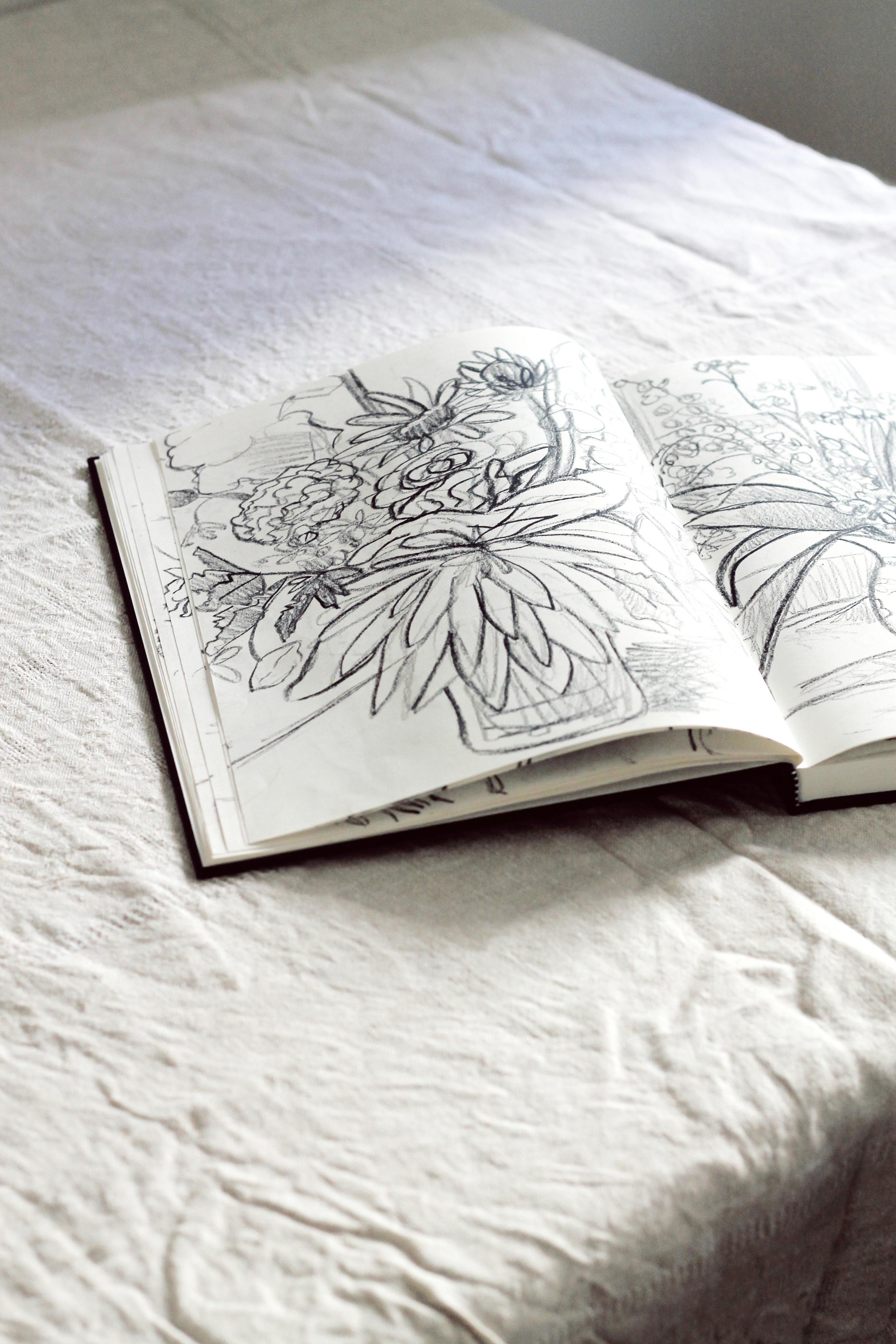 sketchbook in full bloom | via: bekuh b