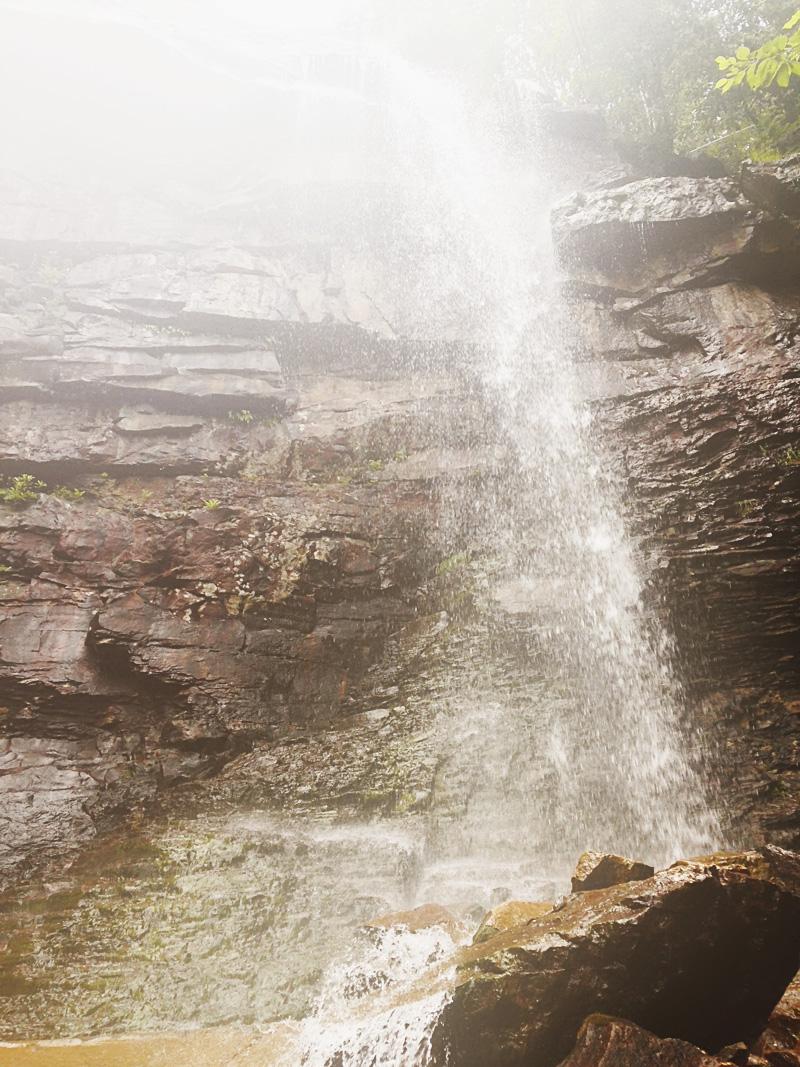 glen onoco falls at lehigh gorge | via: bekuh b.