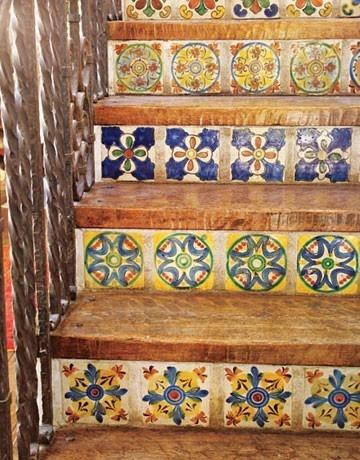 patterned stairs dreaming | via: bekuh b.