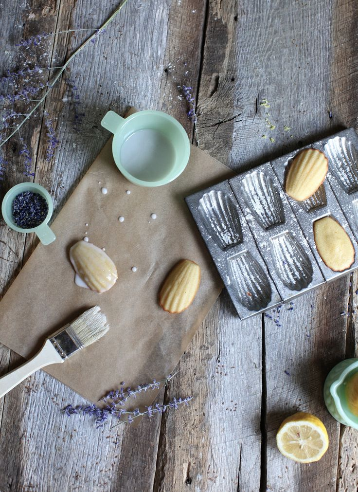 french madeleine cookies by margaret pate | via: bekuh b.