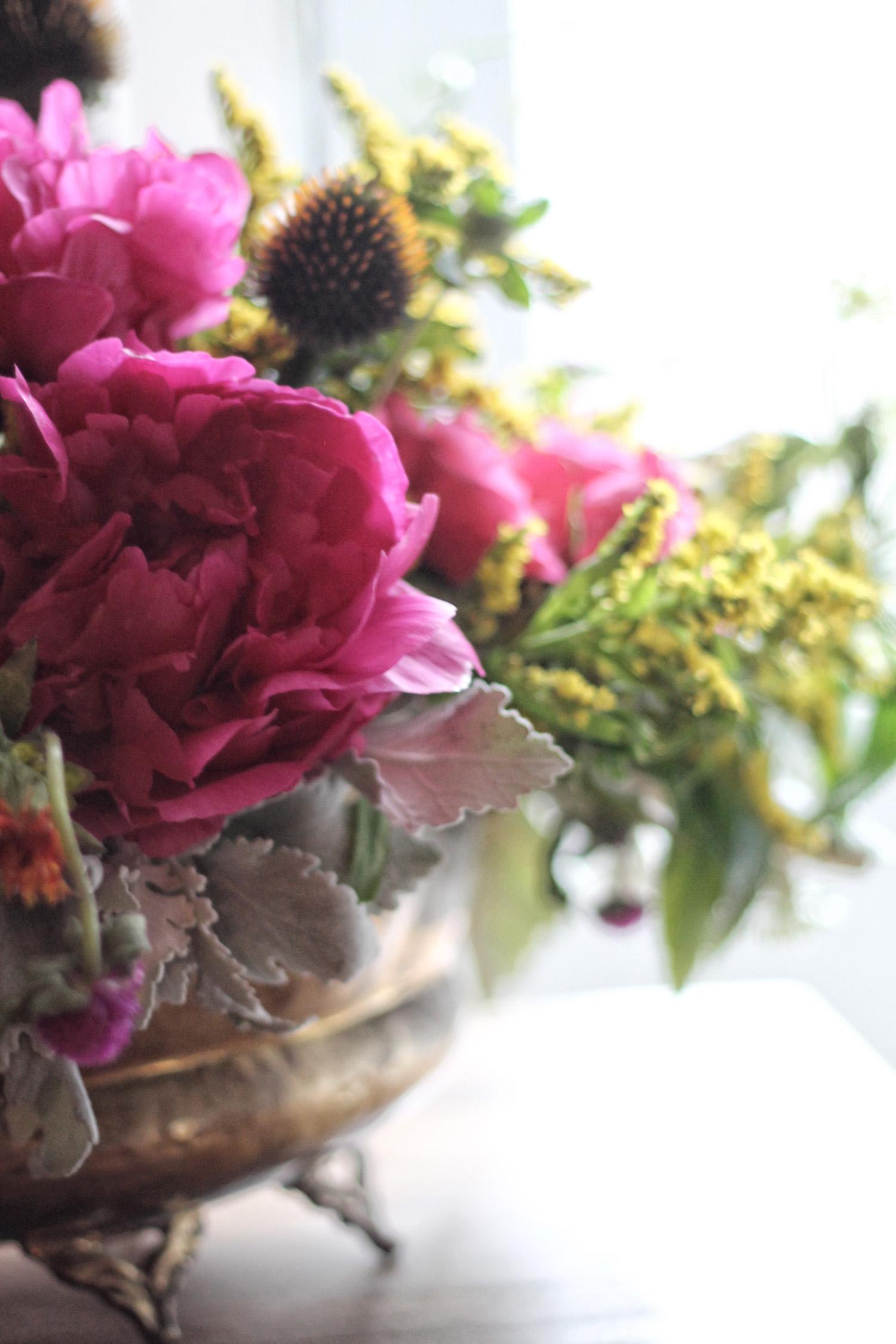 magenta blooms | via: bekuh b.