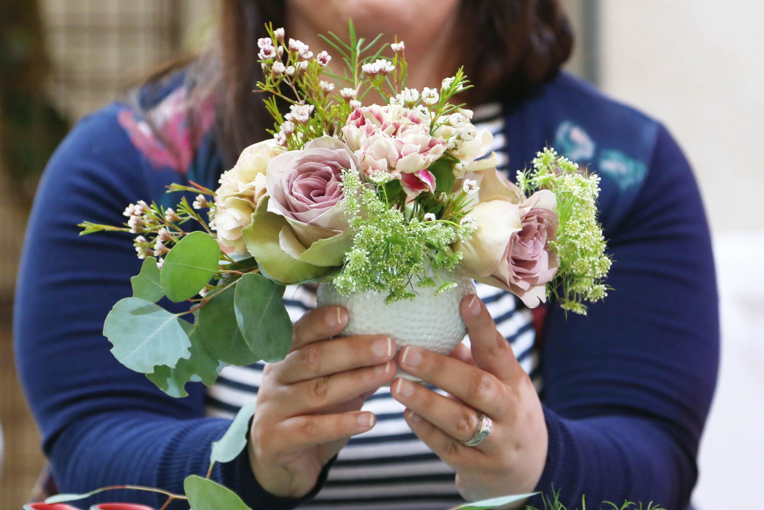 bouquet basics workshop | via bekuh b.
