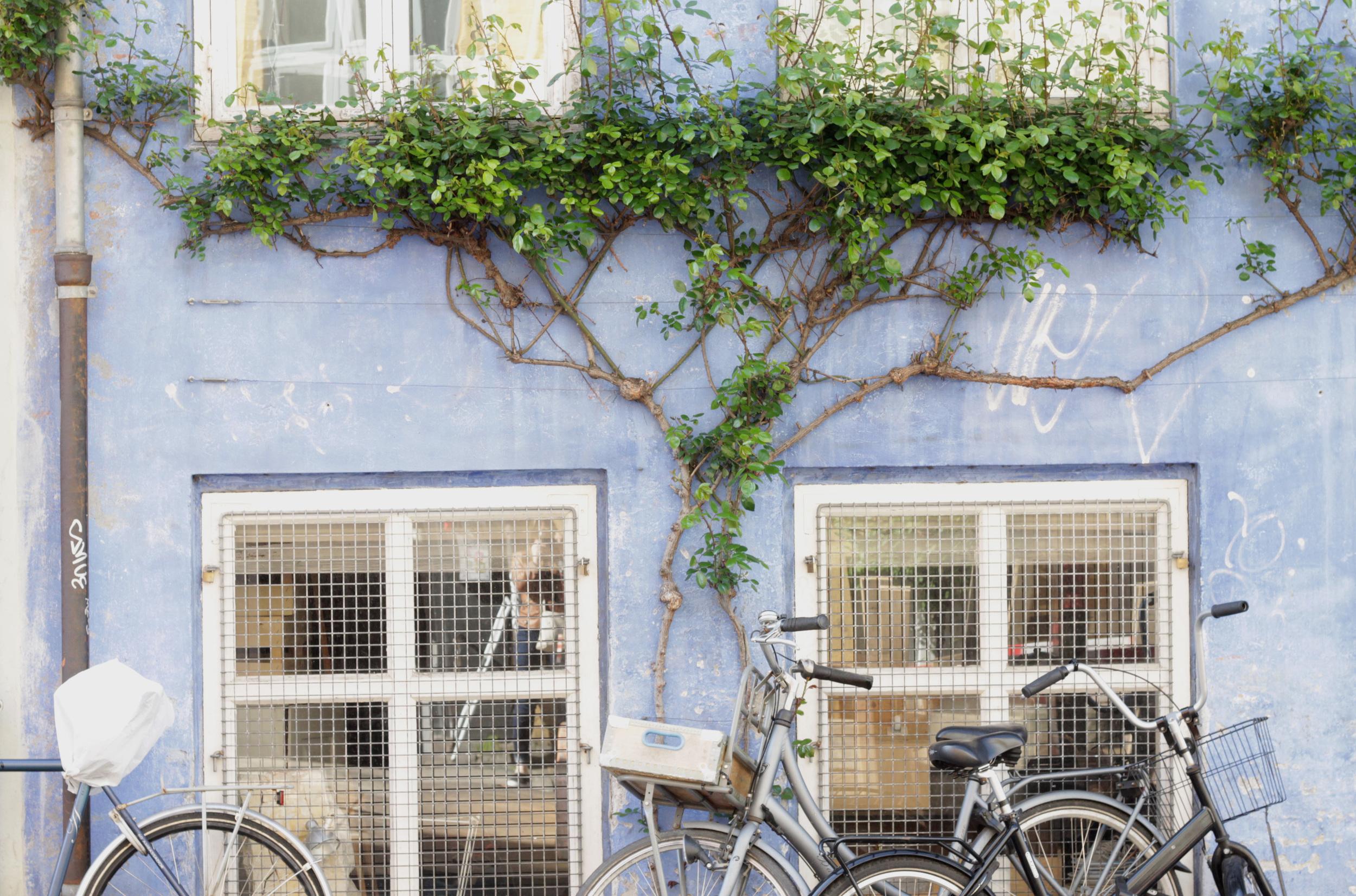 christianhavn neighborhood bikes, copenhagen   via: bekuh b.