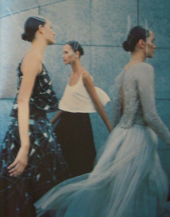 vogue france, september 1998 | photo by enrique badulescu