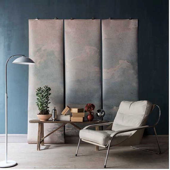 clouded wall mural available on easy | image via: bekuh b.