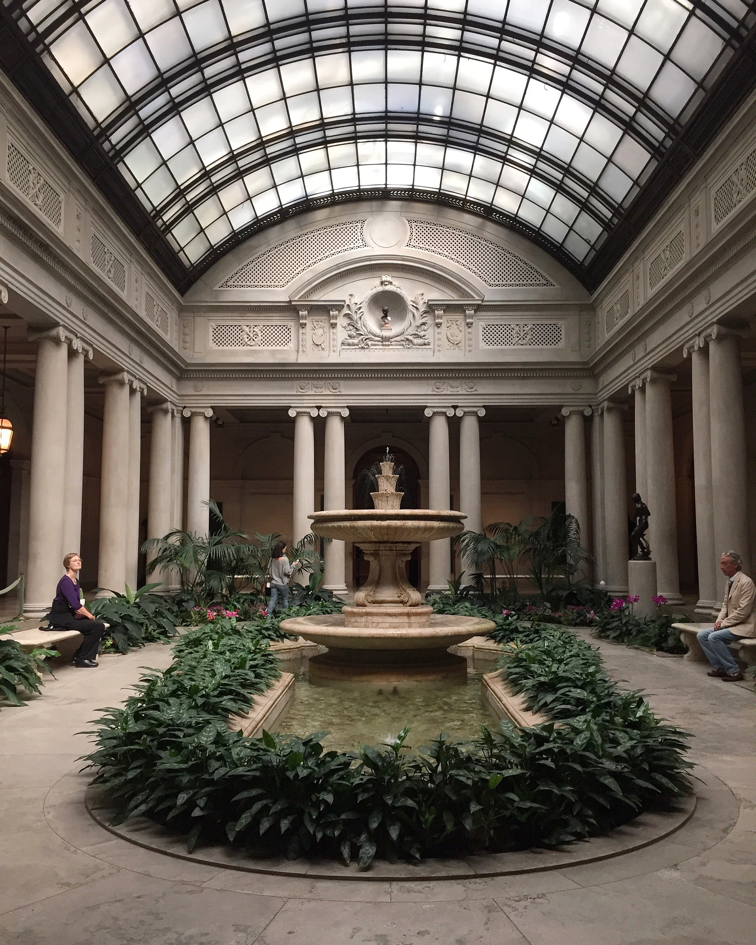 The Frick Collection, NYC | via: bekuh b.