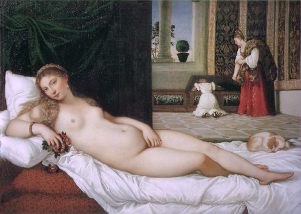 the venus of urbino by titian | image via: bekuh b.
