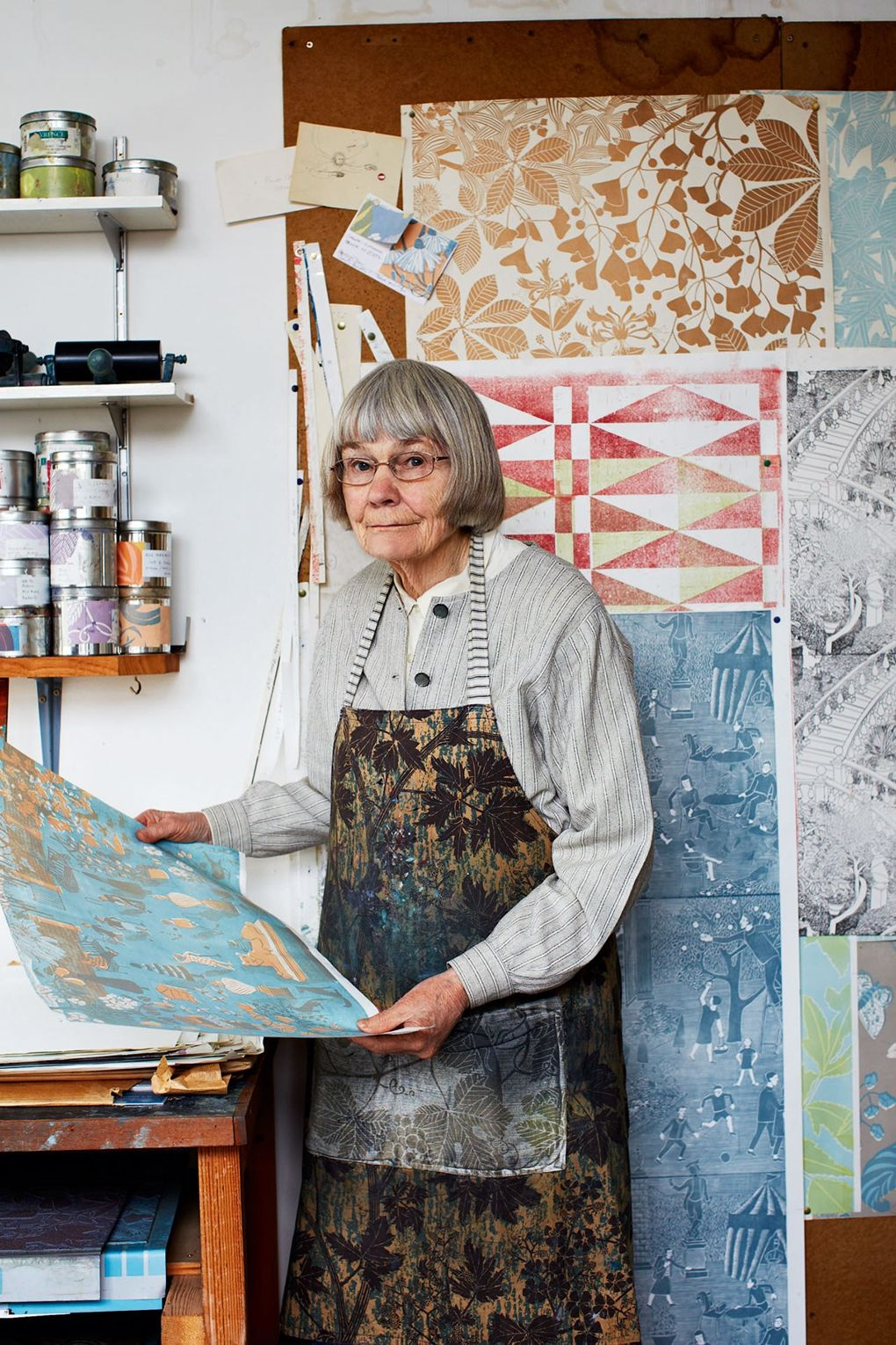 marthe armitage in her studio | via: chatham st. house