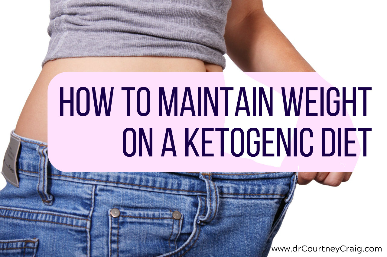 How not to lose weight on a keto diet. Don't lose too much weight on a keto diet.