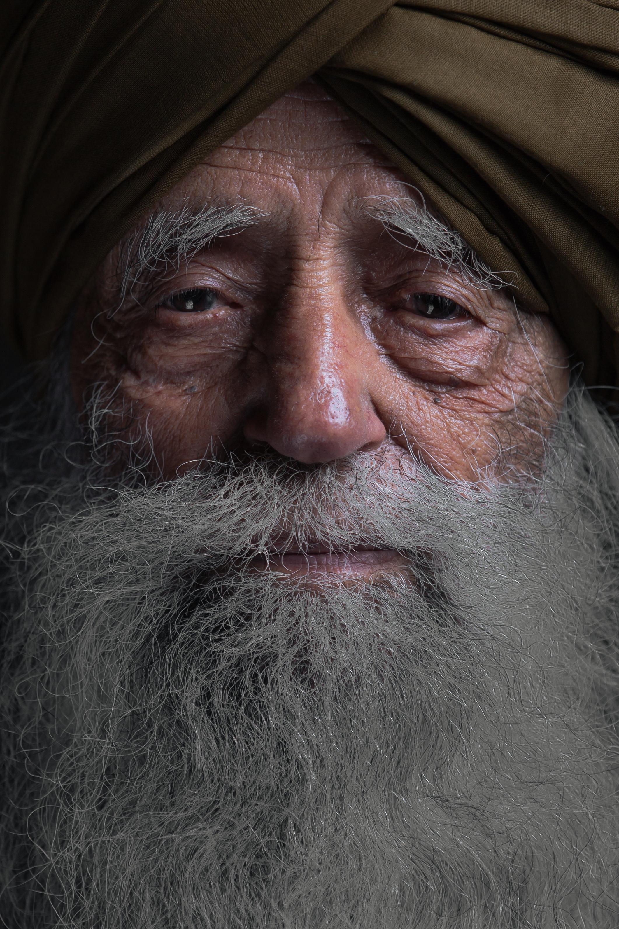Fauja Singh Portrait face