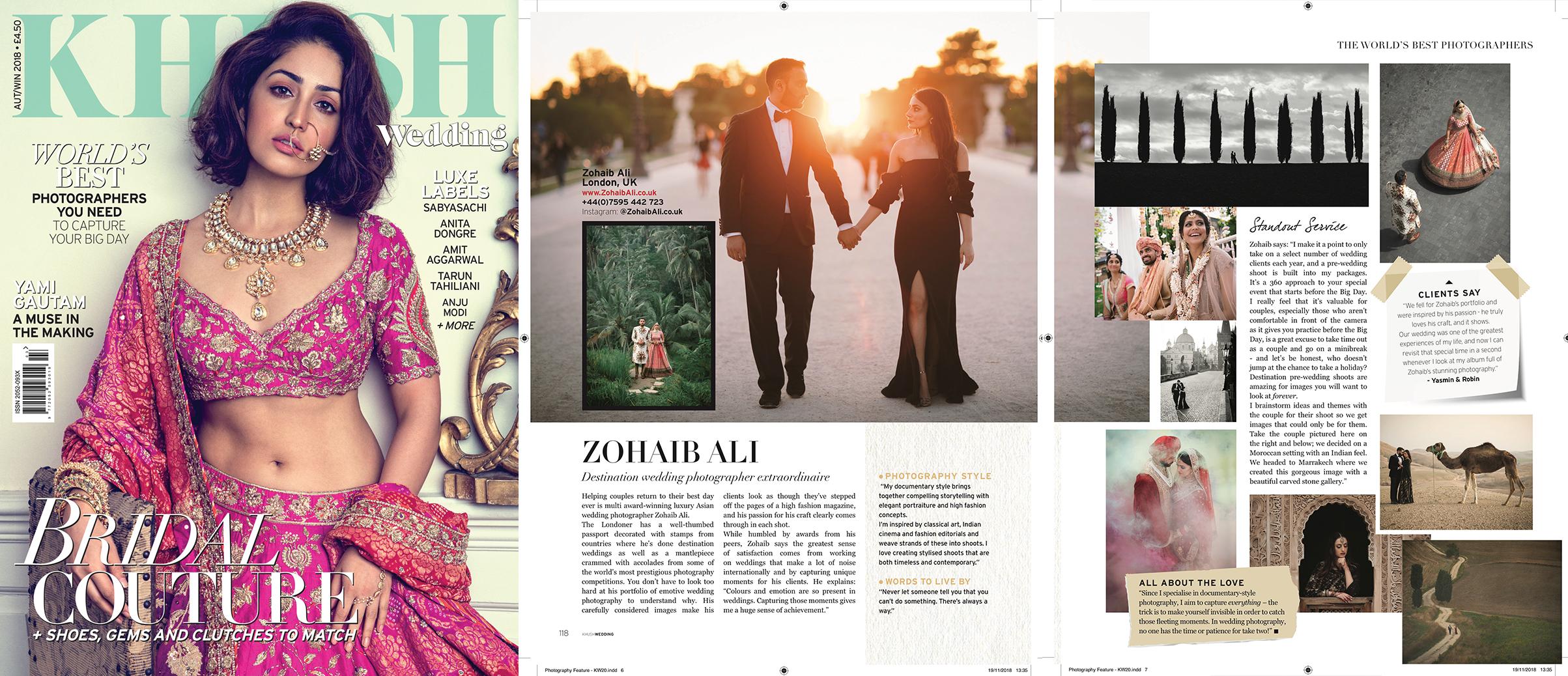 Zohaib Ali Worlds Best Wedding Photographer