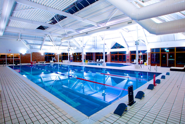 Riverside's impressive 25m pool