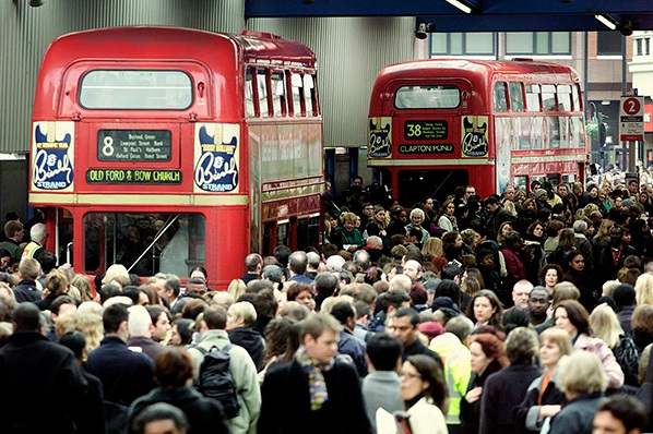 Tube strikes bring misery for London commuters